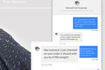 Kustomer screenshot: Use chat to engage with customers