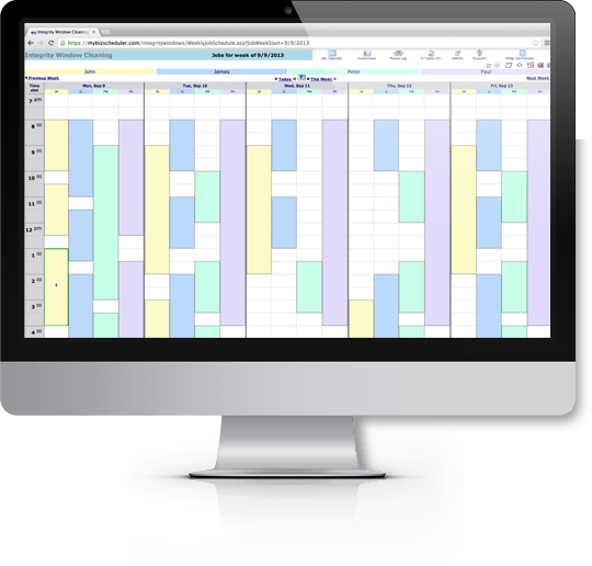 BizScheduler employee schedules