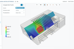 SimScale screenshot: Thermal analysis for electronics cooling application with SimScale