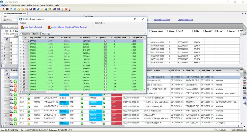 Trimble TMS Software - 4