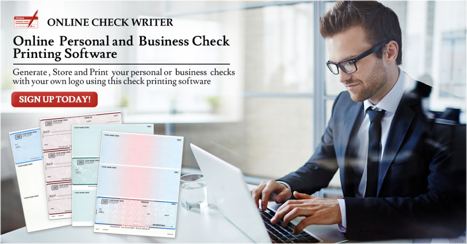 Online Check Writer Software - 5