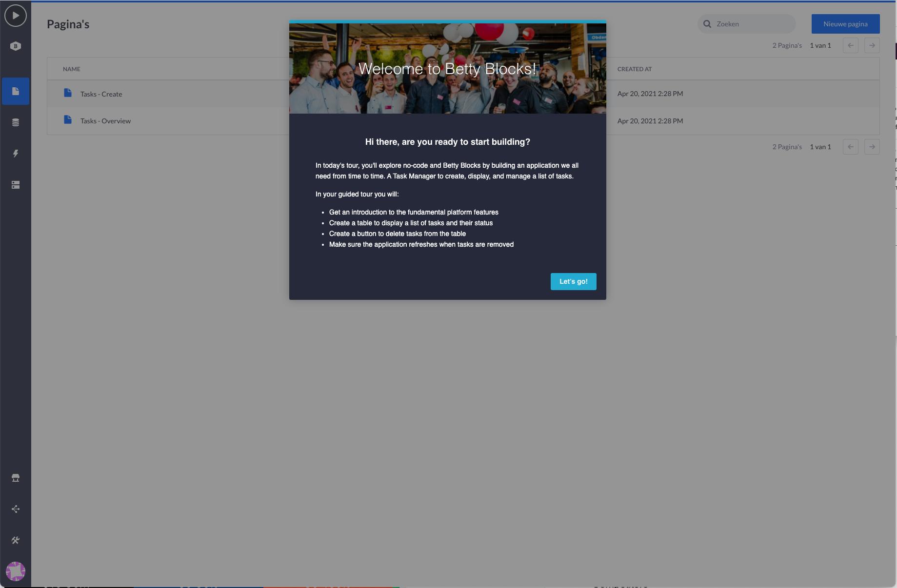 Screenshot 5 -  Betty Blocks Software Advice