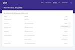 Pilot Screenshot: Pilot vendors