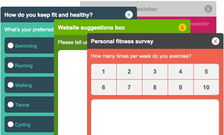 Feedback Lite color picker for surveys