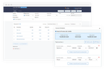 Vincere screenshot: Invoicing: Sales invoices, Purchase invoices, Credit notes, Retainers & retainer invoices scheduler