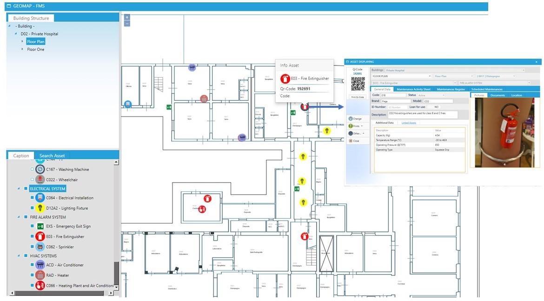 Management via CAD support