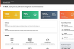 ewiz commerce screenshot: ewiz commerce reporting dashboard
