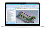Genius ERP screenshot: Project CAD's can be converted into BOMs for procurement and planning