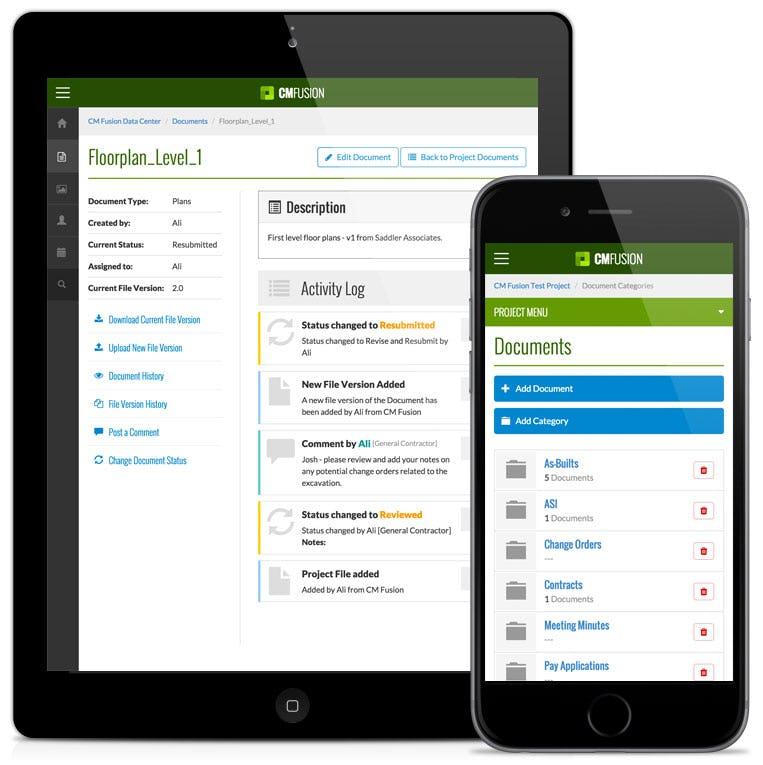 CM Fusion Software - Mobile document management