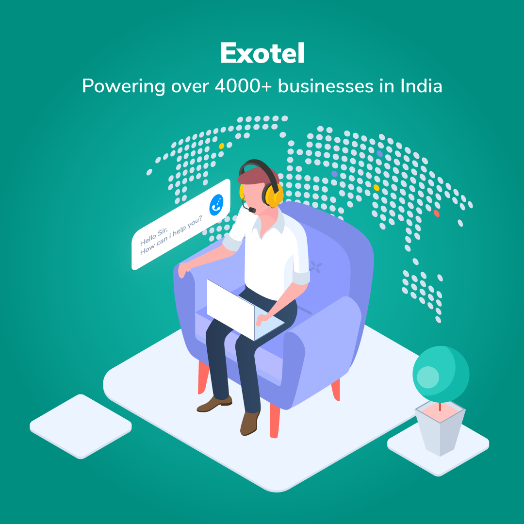 Exotel, one of South Asia's largest cloud telephony and cloud communications provider. Call management, VoIP