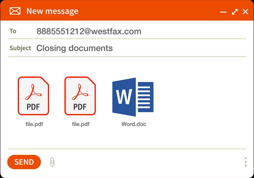 WestFax sending fax online